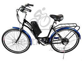 Электровелосипед VEOLA 26 36В 300-400Вт с литиевым аккумулятором 13,2 Ач