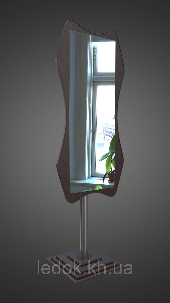 Напольное зеркало в цвете Венге магия Венге магия