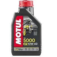 Масло для 4-х тактных двигателей полусинтетическое MOTUL 5000 4T SAE 10W40 1л. 104054/836911