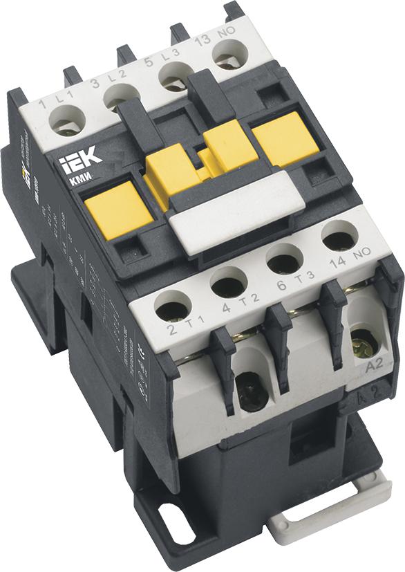 Контактор КМИ-11210 12А 380В/АС3 1з (НО) IEK (KKM11-012-400-10)