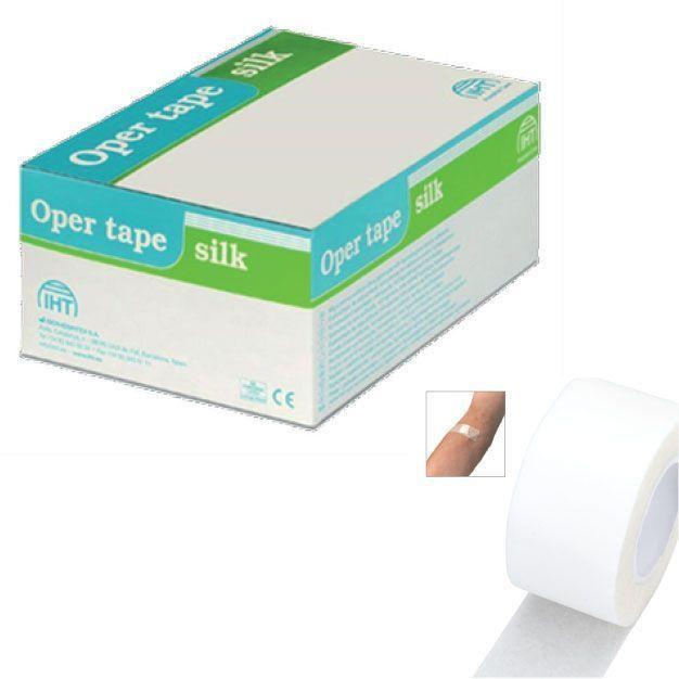 Микропористая хирургическая лента Oper tape silk 5х5 мм