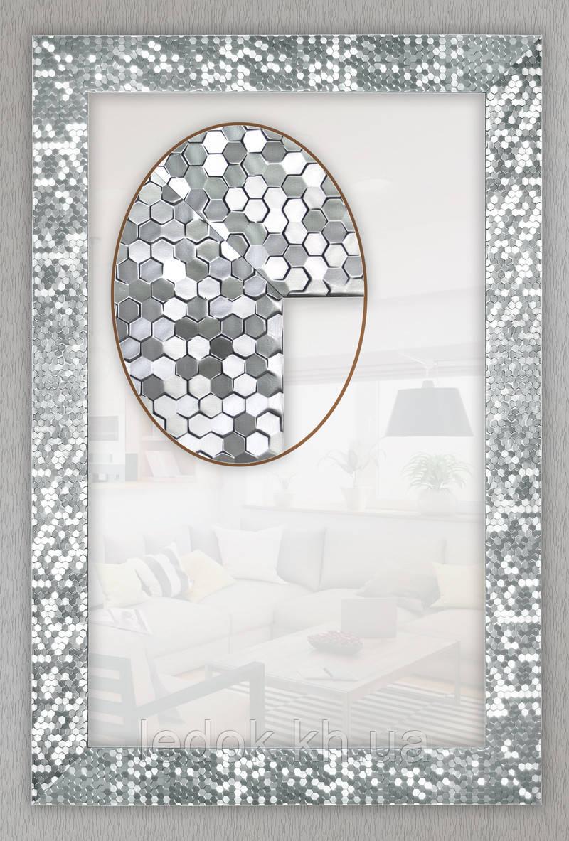 Зеркало для ванной в раме 600х600