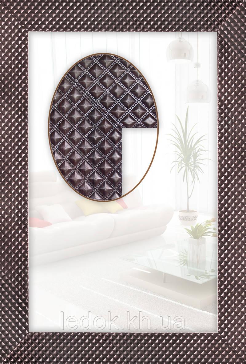 Зеркало в ванную (венге) Под заказ