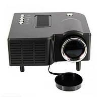 Мини проектор портативный мультимедийный Led Projector UC28+