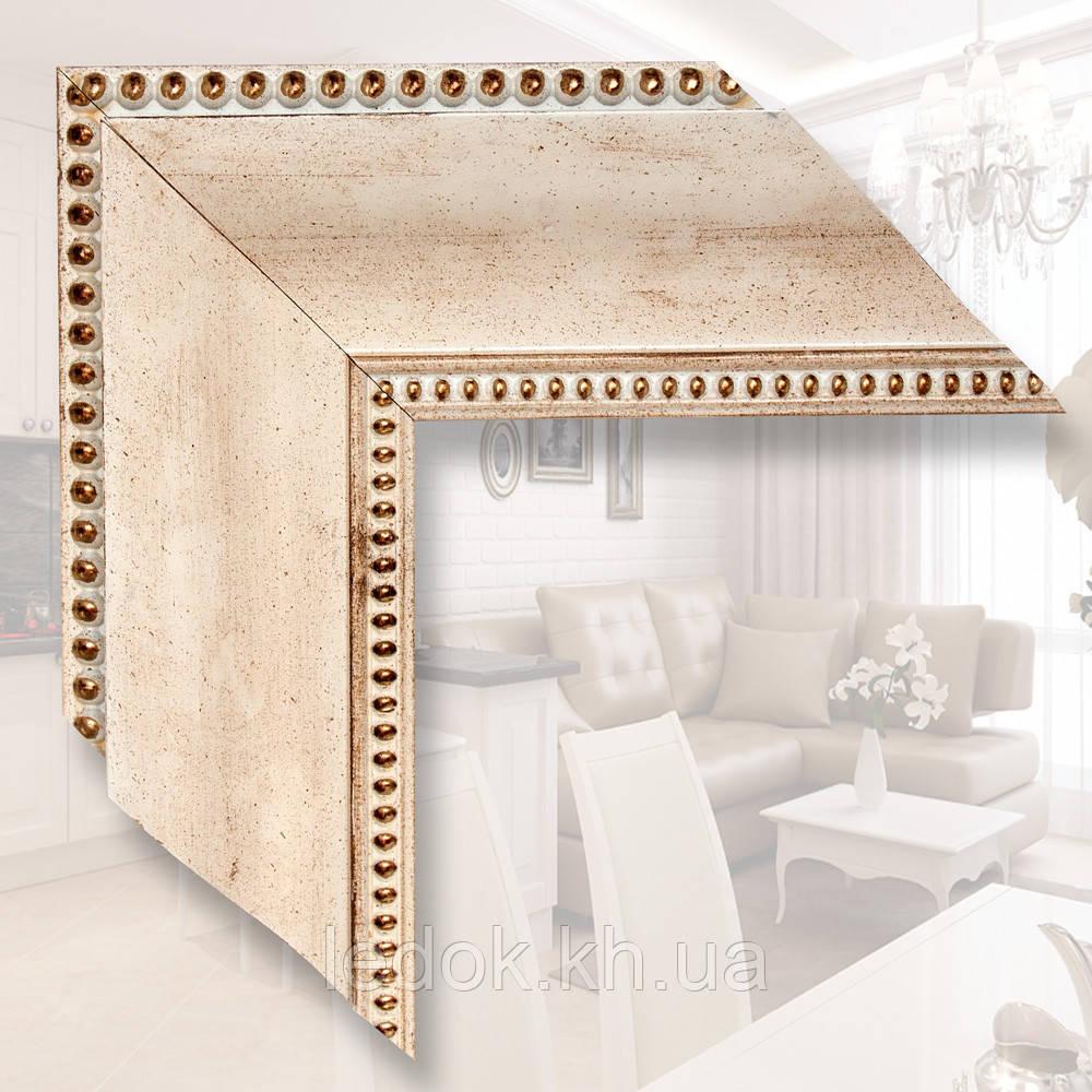 Зеркало в деревянном багете 9.9см 500х700
