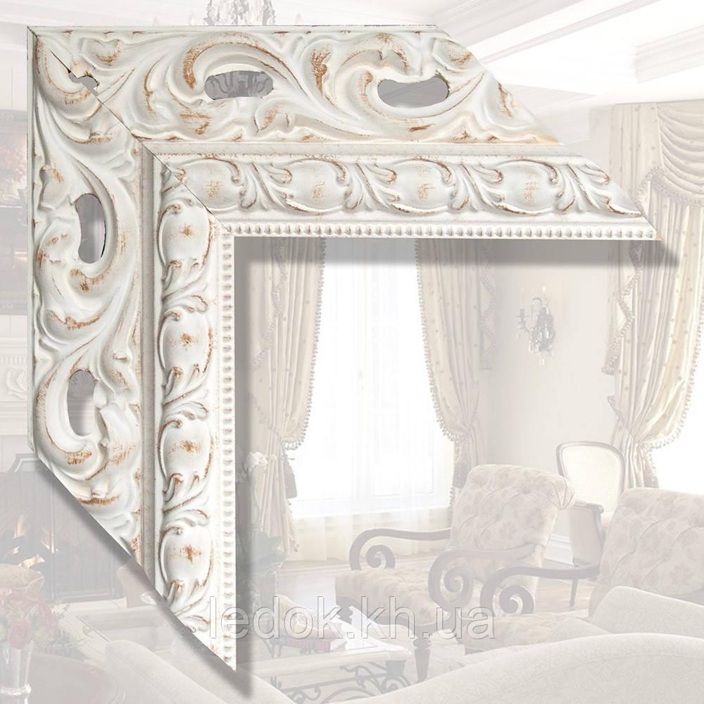 Зеркало в деревянном багете 90мм Дерево, 1600х800