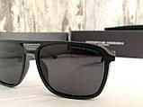 Мужские брендовые солнцезащитные очки с поляризацией Porsche Design, фото 3