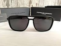 Мужские брендовые солнцезащитные очки с поляризацией Porsche Design, фото 1
