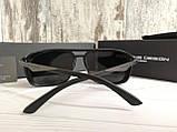 Мужские брендовые солнцезащитные очки с поляризацией Porsche Design, фото 4