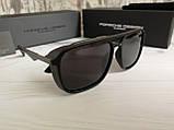 Мужские брендовые солнцезащитные очки с поляризацией Porsche Design, фото 5