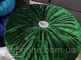 Декоративная подушка в восточном стиле зеленая