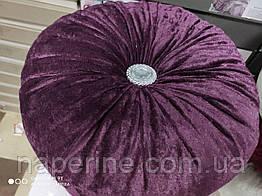 Декоративная подушка в восточном стиле фиолетовая