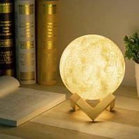 Настольный светильник 3D Moon Lamp