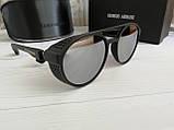 Брендовые солнцезащитные очки с поляризацией Emporio Armani (унисекс), фото 4