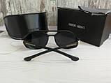 Брендовые солнцезащитные очки с поляризацией Emporio Armani (унисекс), фото 5