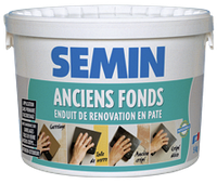 Шпаклевка Semin HERCULE (ANCIENS FONDS) 15 кг готовая в пасте