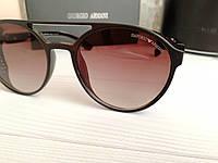 Брендовые солнцезащитные очки с поляризацией Emporio Armani (унисекс), фото 1