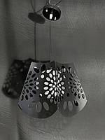 Современный кухонный подвес черный, фото 1