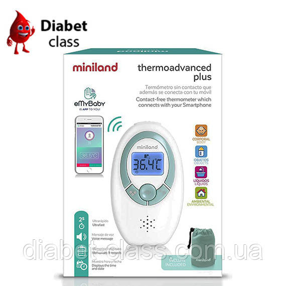 Инфракрасный термометр Miniland Thermoadvanced Plus