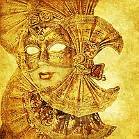 """Набор алмазной вышивки (мозаики) """"Венецианская маска"""""""