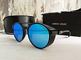 Брендовые солнцезащитные очки с поляризацией Emporio Armani (унисекс), фото 2