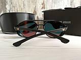 Брендовые солнцезащитные очки с поляризацией Emporio Armani (унисекс), фото 6