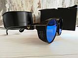 Брендовые солнцезащитные очки с поляризацией Emporio Armani (унисекс), фото 7