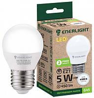 Лампа светодиодная ENERLIGHT G45 5Вт 4100K E27