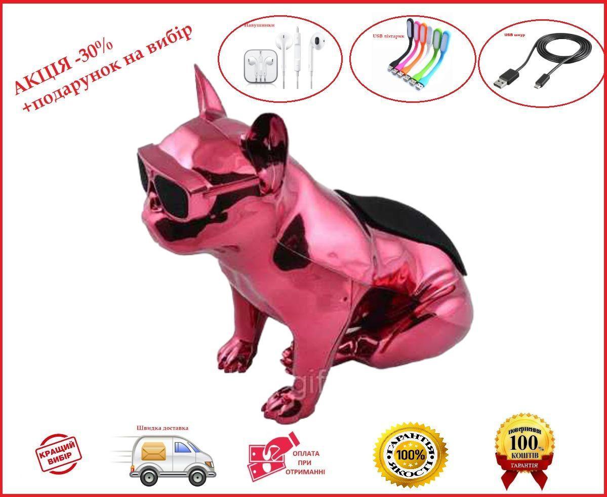 Bluetooth-колонка Aerobull BIG DOG METALLIC S4  Собака