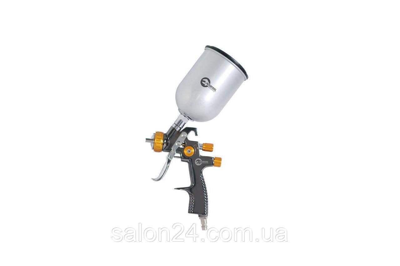 Пневмопистолет лакокрасочный LVLP Intertool - верхний бак 600 мл x 1,8 мм PT-0135
