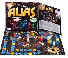 """Настольная игра """"Элиас для вечеринок / Скажи Иначе"""" (Alias Party)"""
