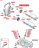 Натяжитель цепи ГРМ киа 1.6mpi, KIA, 2441025001, фото 5