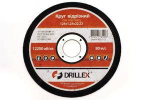 Відрізний диск по металу 115 х 1.2 х 22 DRILLEX