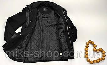 Пальто кашемир весна - осень утепленное размер 48-50, фото 2