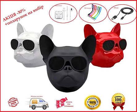 Bluetooth-колонка Aerobull DOG Head Mini Собака, фото 2
