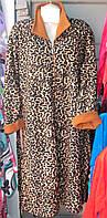 Халат женский флис тигр Турция