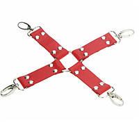 Крест для БДСМ - Красный