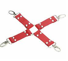 Хрест для БДСМ - Червоний