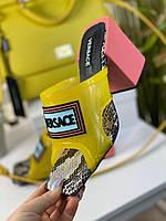 Стильні сабо Versace (репліка), фото 1
