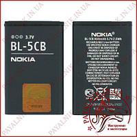 Акумуляторна батарея (АКБ) Nokia BL-5CB (High copy)