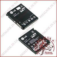 Аккумуляторная батарея (АКБ) для LG KP500 (High copy)