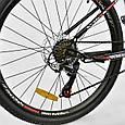 """Велосипед Спортивный CORSO AIRSTREAM 26""""дюймов JYT 002 - 8345 BLACK-RED (1) рама металлическая 17, фото 2"""
