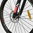 """Велосипед Спортивный CORSO AIRSTREAM 26""""дюймов JYT 002 - 8345 BLACK-RED (1) рама металлическая 17, фото 4"""