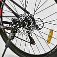 """Велосипед Спортивный CORSO AIRSTREAM 26""""дюймов JYT 002 - 8345 BLACK-RED (1) рама металлическая 17, фото 5"""