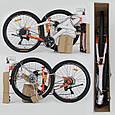 """Велосипед Спортивный CORSO AIRSTREAM 26""""дюймов JYT 002 - 8345 BLACK-RED (1) рама металлическая 17, фото 6"""