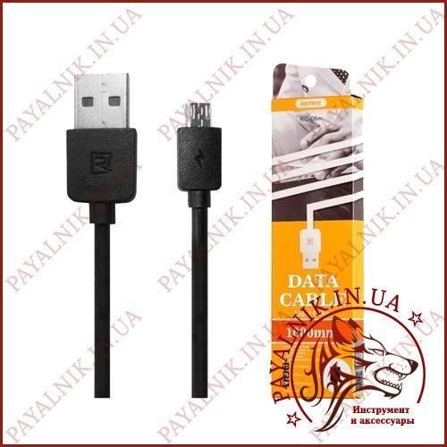 Кабель Micro usb REMAX Light Cable 1м