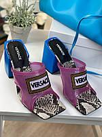 Стильные сабо Versace  (реплика), фото 1