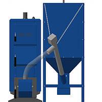 Котлы длительного горения с автоматической подачей топлива  НЕУС-ПЕЛЛЕТ 15 кВт
