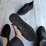 Мужские кеды Guess OS018 черные, фото 6
