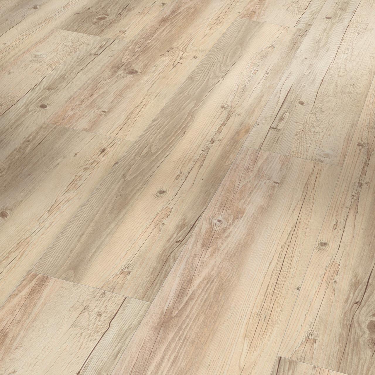 Виниловые покрытия Parador Сосна белое масло пиленная (Pine white oiled rough-sawn texture)